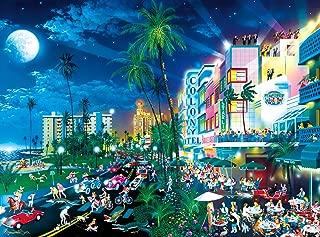 Buffalo Games - Alexander Chen - Cartoon World - South Beach Moonlight - 1000 Piece Jigsaw Puzzle