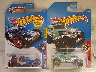 Hot Wheels Baja Bone Shaker & Bone Speeder Die Cast 1/64 Scale 2 Car Bundle!