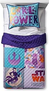 purple star wars bedding