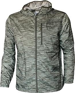 Columbia Men's Morning View Windbreaker Hooded Printed Jacket