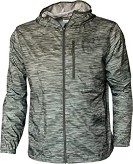 Columbia Men's Morning View Windbreaker Hooded Printed Jacket