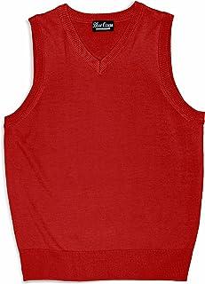Blue Ocean Kids Solid Color Sweater Vest