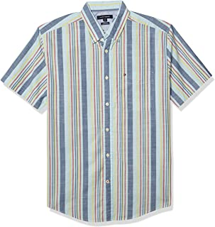 Men's Short Sleeve Button Down Shirt in Classic Fit