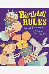 Birthday Rules (Carolrhoda Picture Books) Kindle Edition