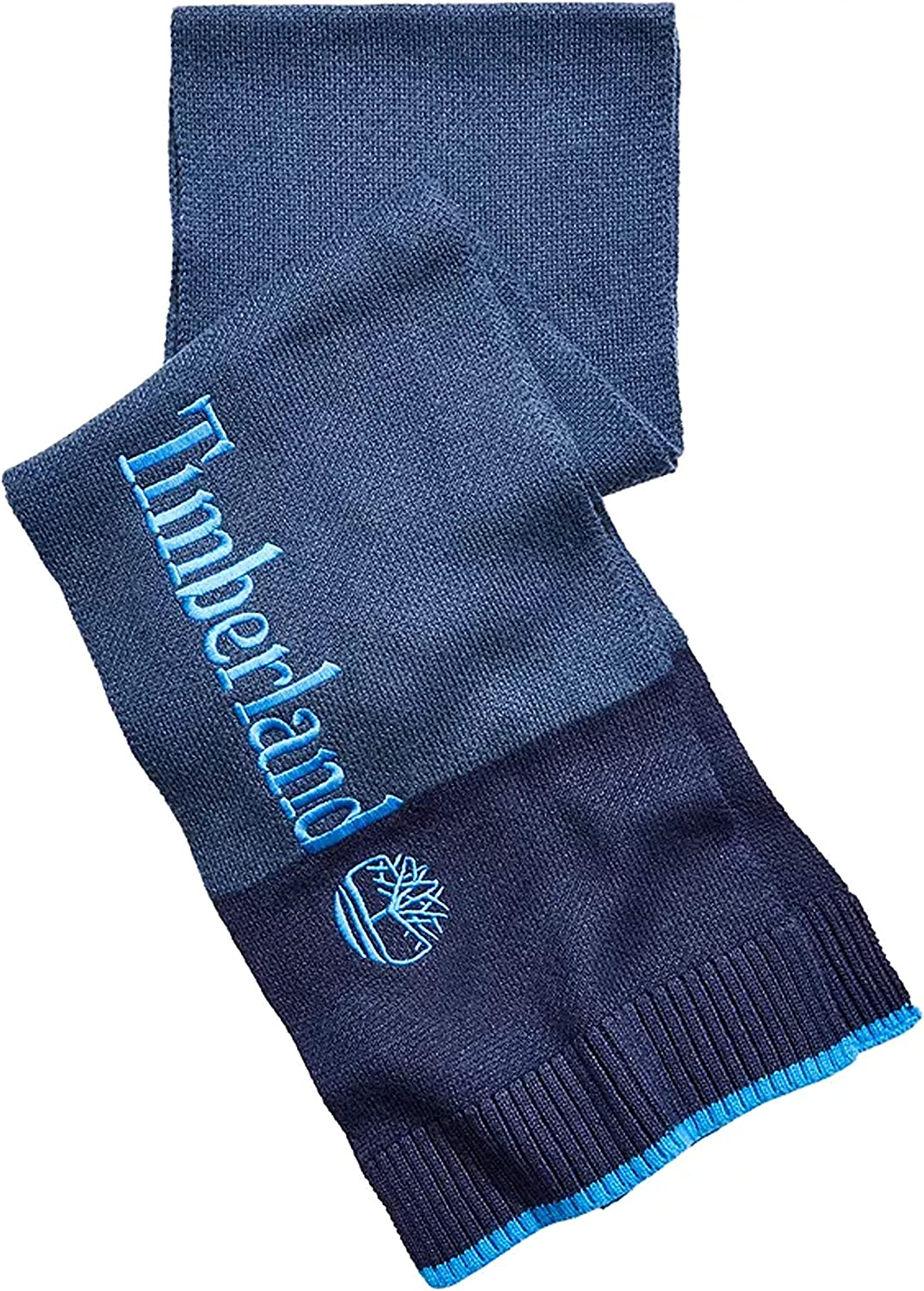 Timberland Scarf with Large Embroidery Logo Knit Scarf