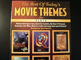 The Best of Today's Movie Themes for Flute