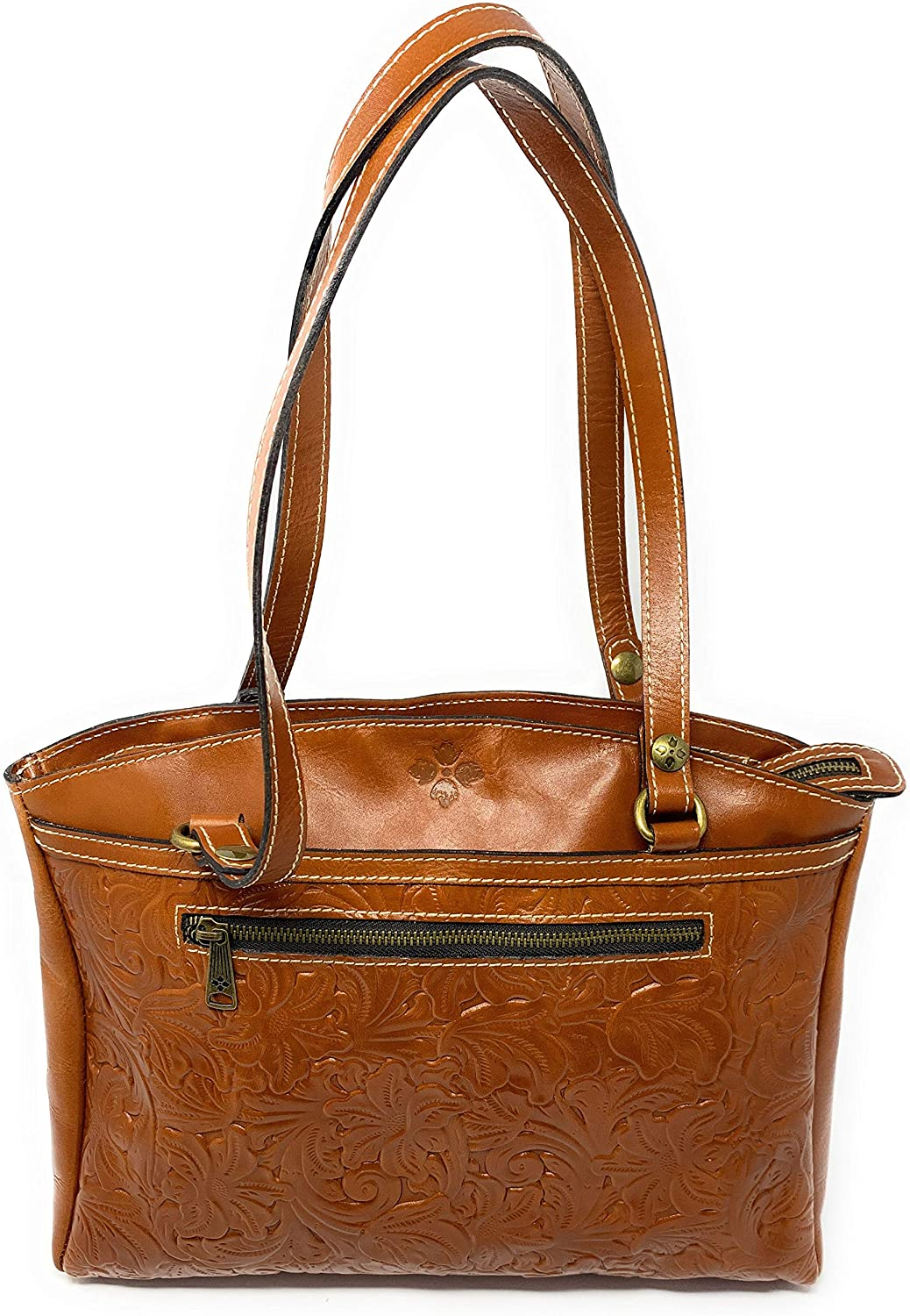 Patricia Nash Poppy Tote Tooled Purse Handbag lowest price New color Leather