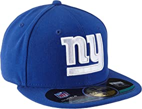 NFL Mens New York Giants On Field 5950 Royal Blue Game Cap By New Era