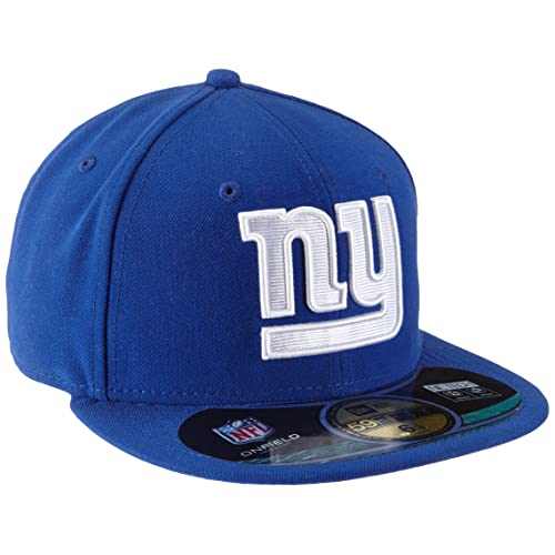 19c38753e4f0 New Era Erwachsene Baseball Cap Mütze NFL On Field New York Giants 59 Fifty  Fitted
