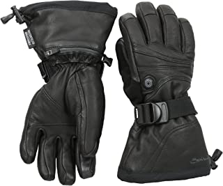 Seirus Innovation 1088 Womens Ladies Heat Touch Ignite Cold Weather Winter Leather Gloves with Soundtouch Touch Screen Technology