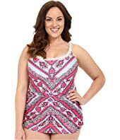 BECCA by Rebecca Virtue - Plus Size Secret Garden One-Piece