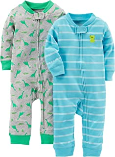 Simple Joys by Carter's Baby Boys' 2-Pack Cotton Footless...