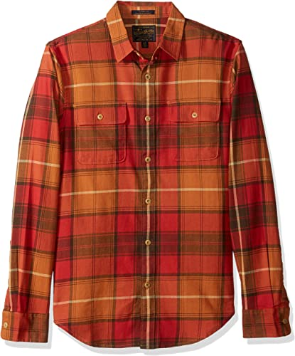 Lucky Brand Homme 7M43122 Manches Longues Chemise boutonnée