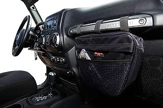 Badass Moto Gear Hanging Organizer Storage Bag for Jeeps. Fits on Glove Box Grab Handle