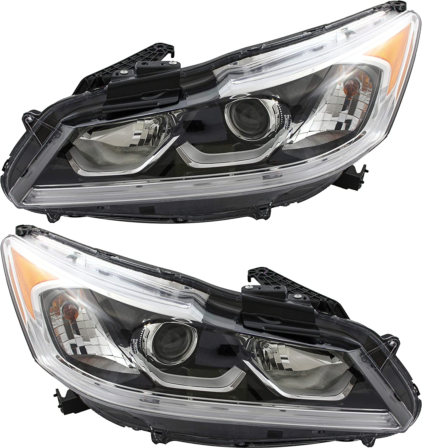 JP Auto Headlight Compatible With Honda Max Popular shop is the lowest price challenge 50% OFF Sp Ex-L Accord Sedan Ex