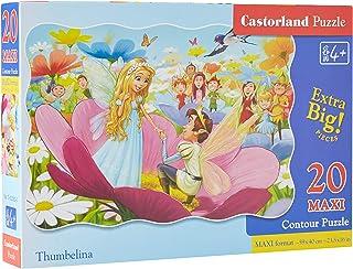 Castorland Thumbelina, Multi-Colour, C-02382-1, 20 Maxi