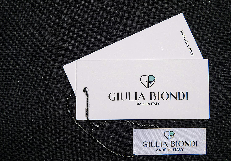 GIULIA BIONDI 100% made in Italy Recycled Cashmere Scarf Shawl Wrap Plaid Pattern Tartan Fall Winter Long Large Women Men