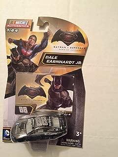 2016 Nascar Authentics 1:64 - Batman vs Superman: Dawn of Justice - Set of 6 Die-cast cars Dale Earnhardt Jr #88 Batman & Jimmie Johnson #48 Superman 1/64 Scale Diecast NASCAR Authentics
