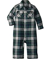 Ralph Lauren Baby - Plaid Cotton Western Coverall (Infant)