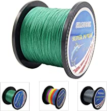 Super Strong Braided Fishing Line – 4 Strands Multifilament Pe Fishing Line –..