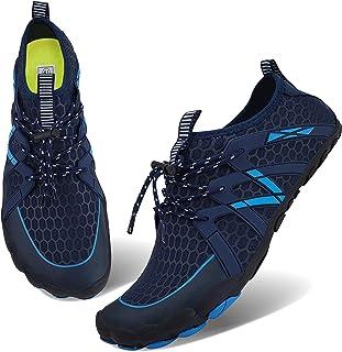 أحذية رياضية مائية للرجال والنساء سهلة الارتداء سريعة الجفاف أكوا للسباحة لحمام السباحة وركوب الأمواج والمشي بحديقة مائية