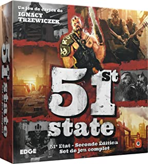 Asmodee–51st State: Second Edition, efpg5101, No