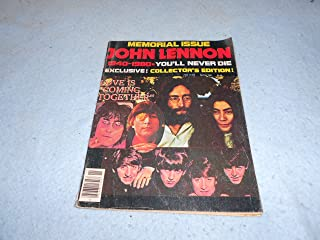 Memorial Issue John Lennon (1940-1980..You'll Never Die ...Exclusive! Collector's Edition !, Spring 1981)