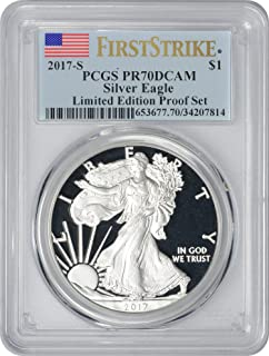 2017 s silver eagle proof