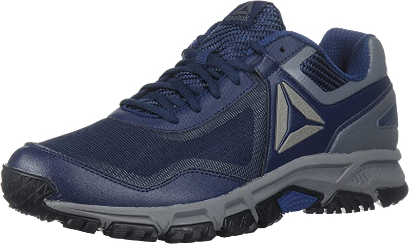 Reebok Men's Ridgerider Trail 3.0 baskets, coll. Navy Washed bleu Alloy noir Pewter, 7 M US