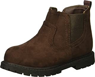 Carter's Kids Boy's Cooper3 Brown Chelsea Boot Fashion