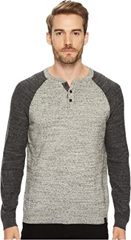 Lucky Brand - Color Block Henley Sweater