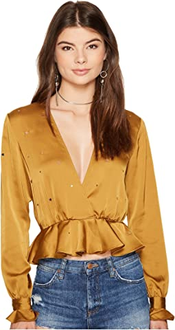 For Love and Lemons - Twinkle Long Sleeve Blouse