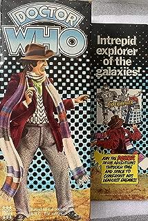 Vintage 1976 Denys Fisher Mego Doctor Who Fourth Doctor Tom Baker Action Figure Doll Set