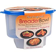 The Original Breader Bowl-... The Original Breader Bowl- All-in-One Mess Free Batter Breading at Home or On-the-Go