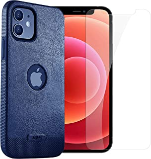 Lions iPhone 12/12 Pro/12 Pro Max Leather Case with Screen Protector - Easy Installation, Comfortable Grip & Protects your...