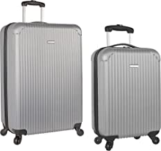Travel Gear Hardside Spinner Luggage Set with Carry On 2 Piece 3 Piece