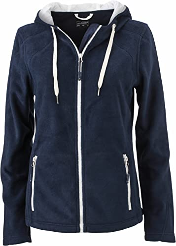 JAMES & NICHOLSON - Veste Sweat-Shirt zippé à Capuche Polaire - JN997 - Femme