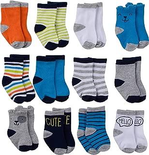 Gerber - Calcetines para bebé (12 pares)