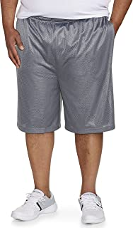Amazon Essentials Men's Big & Tall Mesh Basketball Short fit by DXL