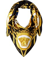 Versace - Baroque Detail Silk Scarf