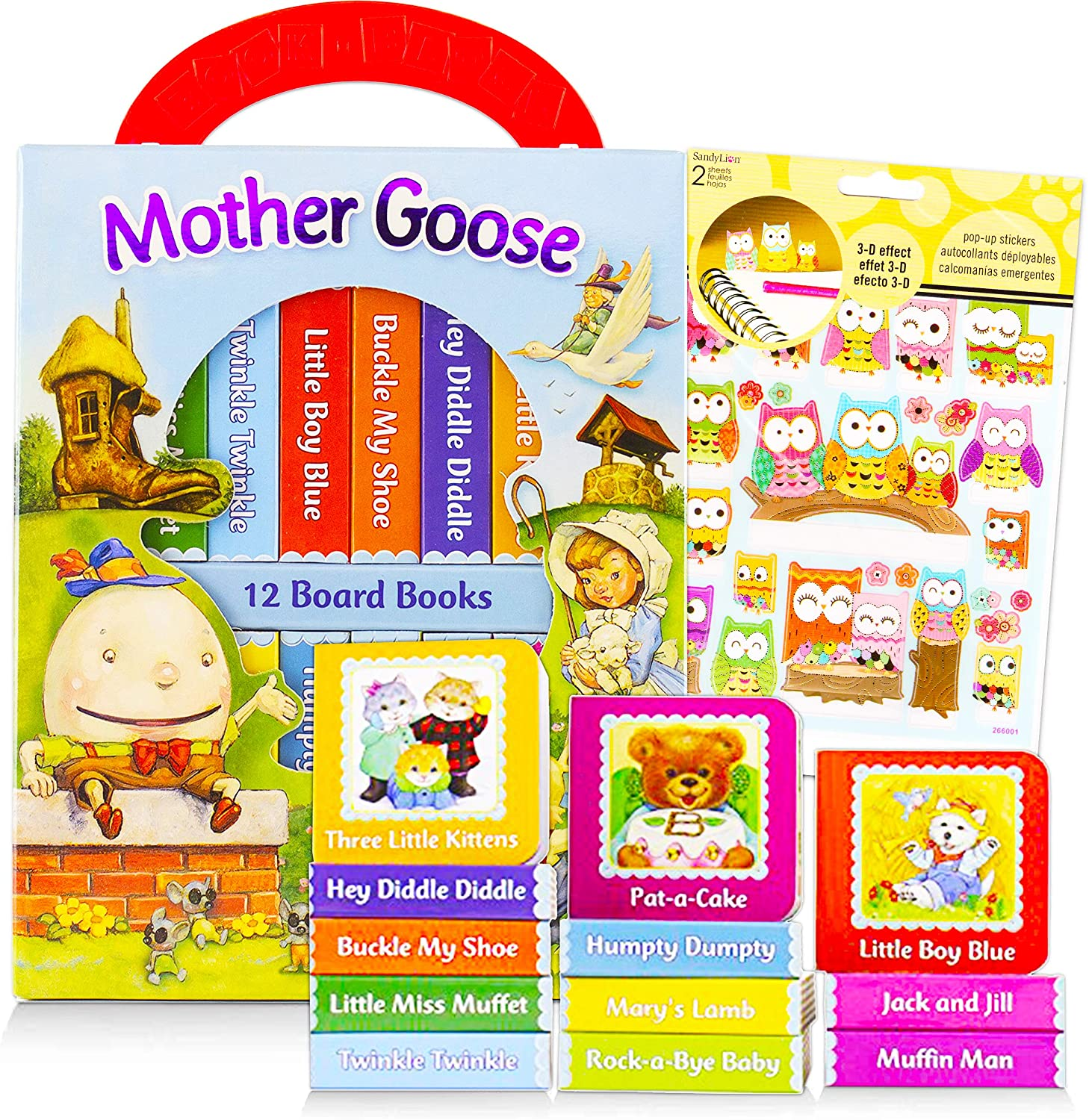 Mother Goose Books for Children Toddlers Bundle We OFFer at cheap prices Pack Don't miss the campaign ~ Babies of