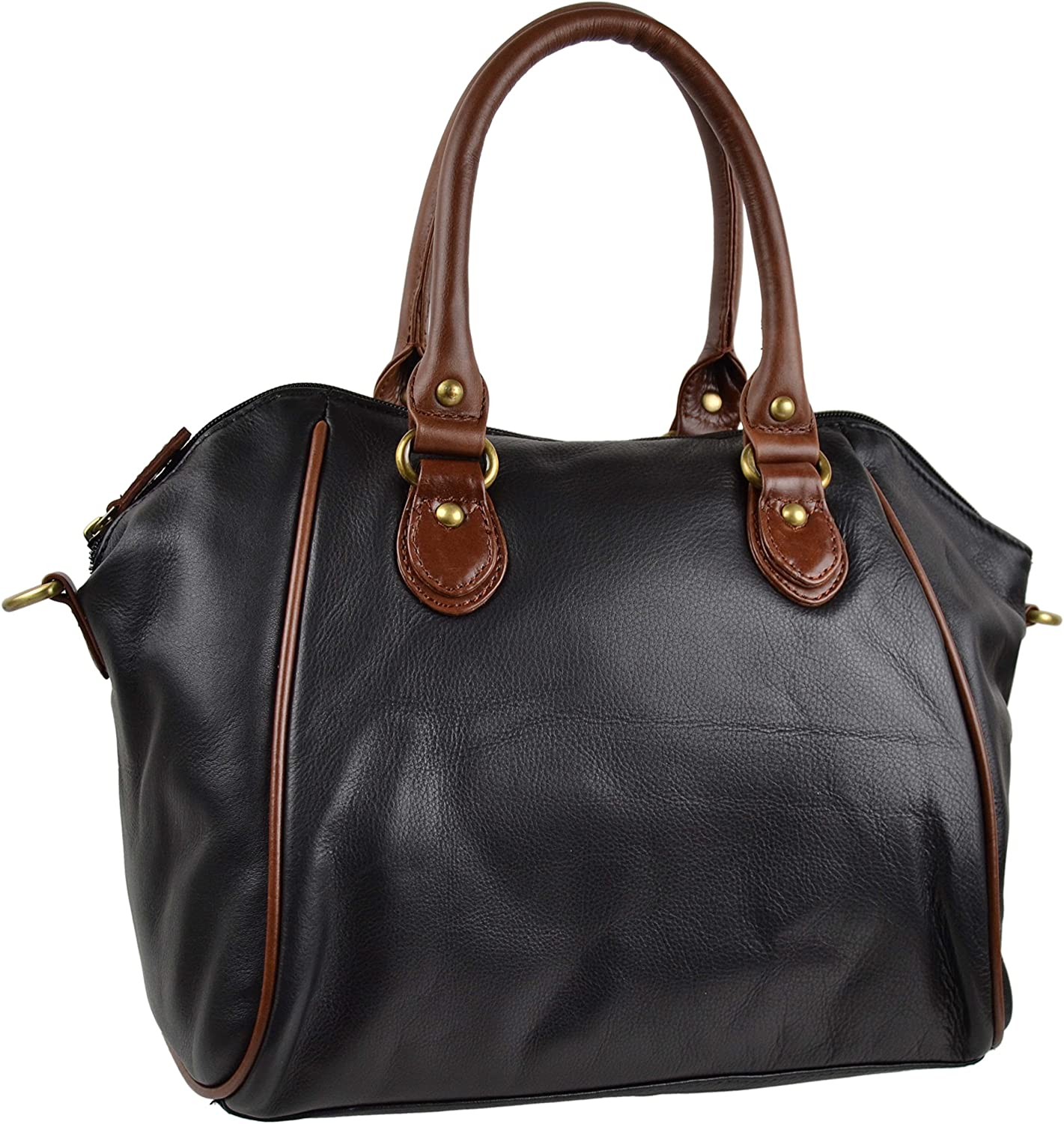 Blousey Brown Women'S Leather Leather Shoulder Bag