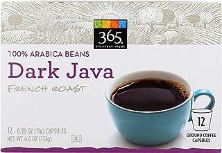 365 Everyday Value, Dark Java French Roast Coffee Capsules, 4.6 oz, 12 ct