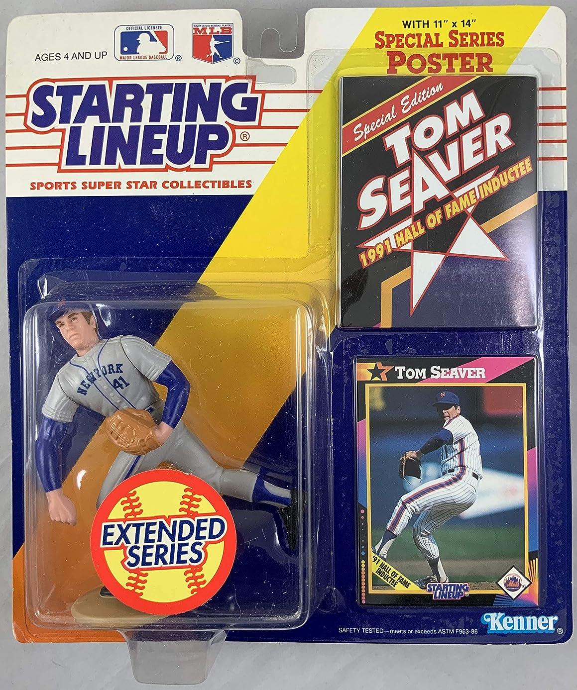 1992 KENNER STARTING LINEUP MLB EXTENDED SERIES TOM SEAVER NEW YORK METS MOC