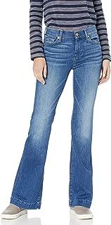 Women's Flare Wide Leg Jean, Santiago Canyon Midnight Rain, 30