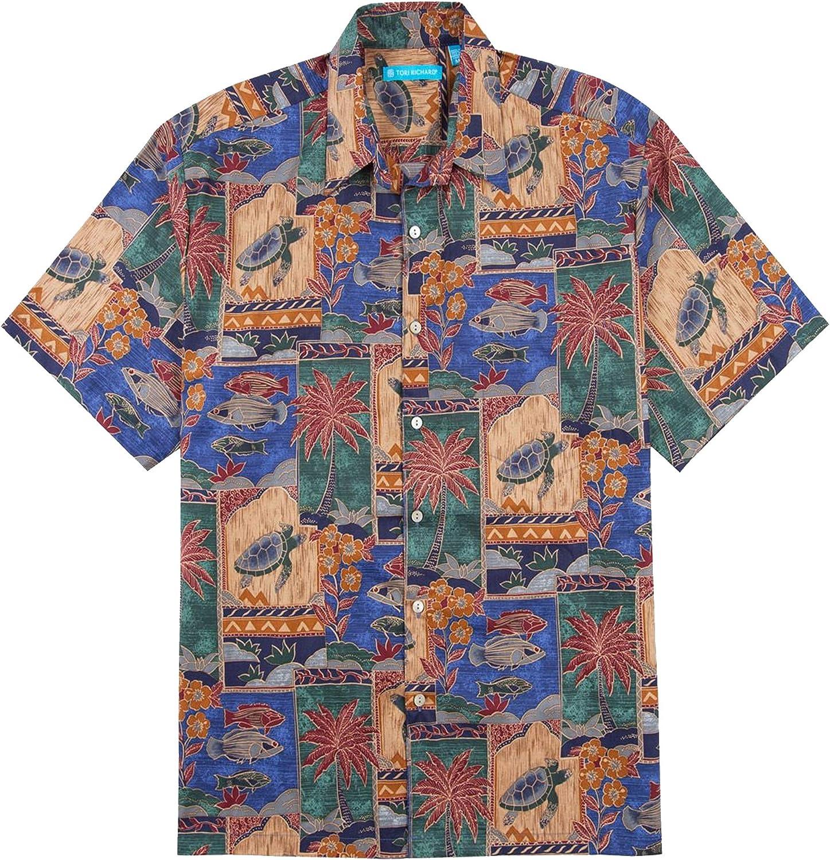 Tori Richard Marquises Cotton Lawn Camp Shirt