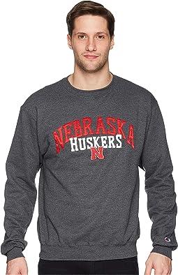 Champion College - Nebraska Cornhuskers Eco® Powerblend® Crew