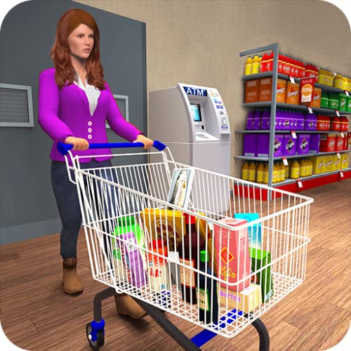 Supermarket Grocery Store Shopping Mall Game For Girls, Shopping Mall Supermarket Simulator Atm Machine Cash Register Game