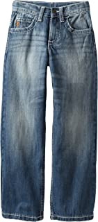Wrangler Big Boys' Relaxed Fit Straight Leg Watch Pocket Jeans