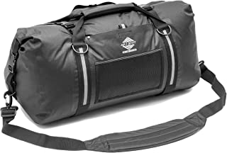 White Water Duffel - 100% Waterproof Bag 50L, 75L & 100L - Lightweight, Durable, External Pockets - Black, Charcoal, Red, Blue, Gray or Camo